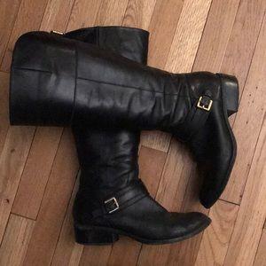 Leather Ralph Lauren Riding Boots